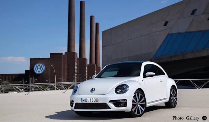 ビートルに「R-Lineパッケージ」登場 Volkswagen