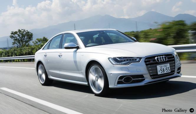 アウディS6、S6アバント & S7スポーツバック同時試乗|Audi
