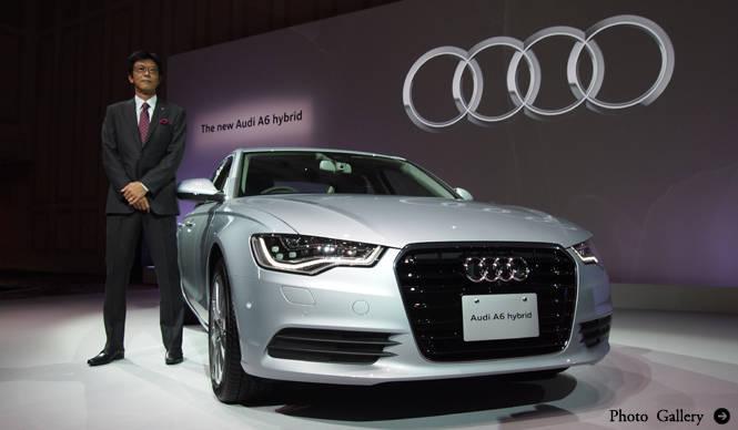 アウディジャパン初のハイブリッドモデル A6 ハイブリッド 発売|Audi