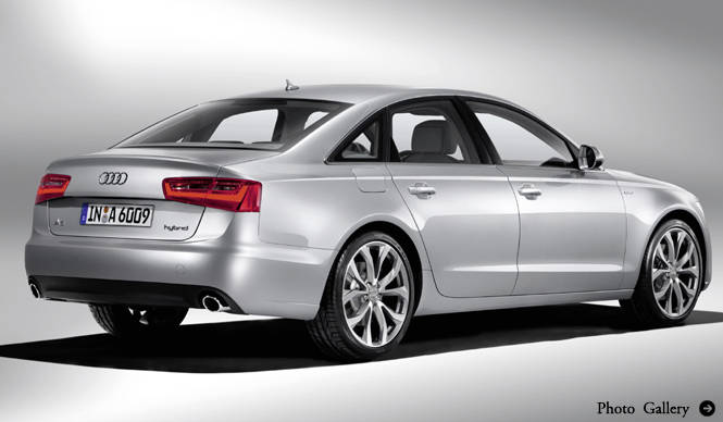 ショートインプレッション アウディ A6 ハイブリッド|Audi