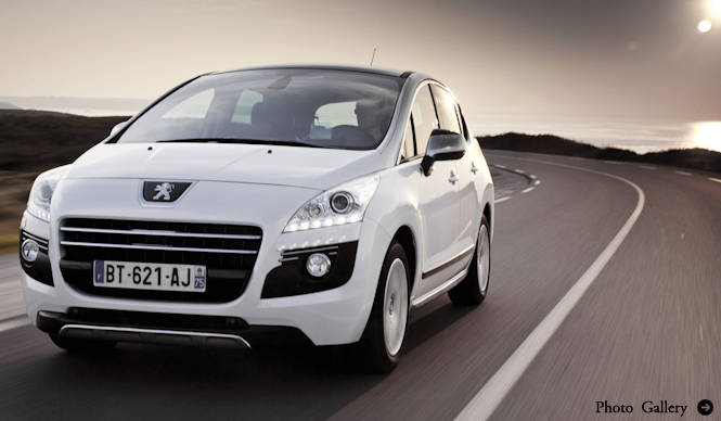 3008ハイブリッドがさらに進化し、パリモーターショーへ|Peugeot