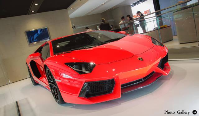 アヴェンタドールがアップデート|Lamborghini