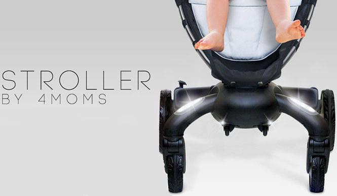 RESTIR|世界初の電動開閉ベビーカー「4 moms stroller」先行予約スタート