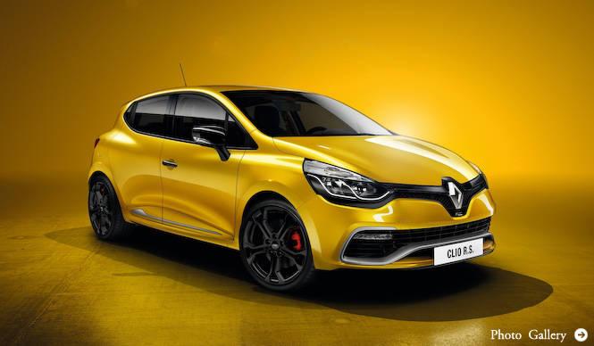 新型クリオにRSモデルとエステート|Renault