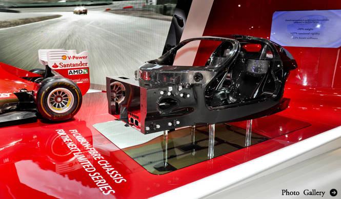 フェラーリが次期スペシャルモデルのシャシーを初公開|Ferrari