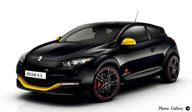 トゥインゴとメガーヌにレッドブル・レーシング カラーの特別限定車|Renault
