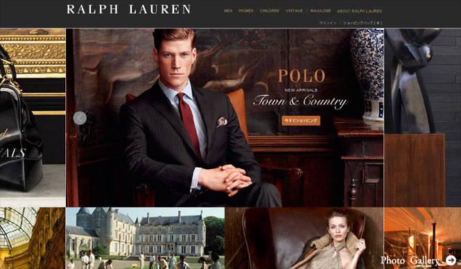 RALPH LAUREN│待望の日本向けオンラインストアが開設