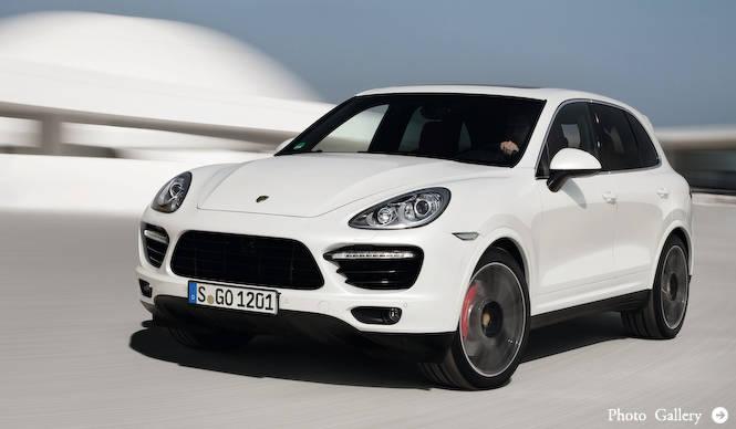 カイエンにもっともパワフルな「ターボS」登場|Porsche