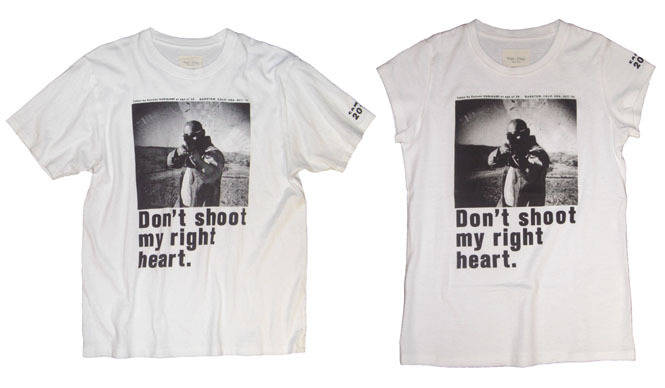 VIRI-DARI deserta 操上和美写真展記念コラボレーションTシャツ完成