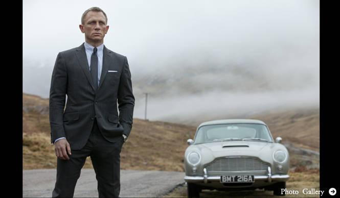 MOVIE シリーズ誕生50周年の記念作『007 スカイフォール』