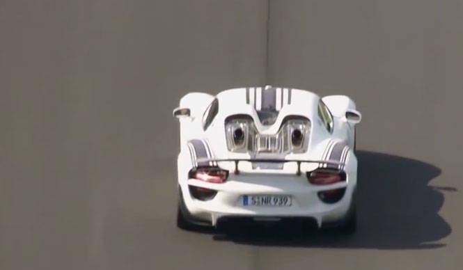 918スパイダー、ニュルを走る!|Porsche