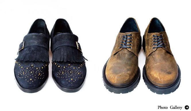 BUCCHUS|フィレンツェから届いたユニーク靴