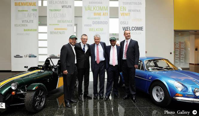アルピーヌとケーターハムが新型車を共同開発|Renault