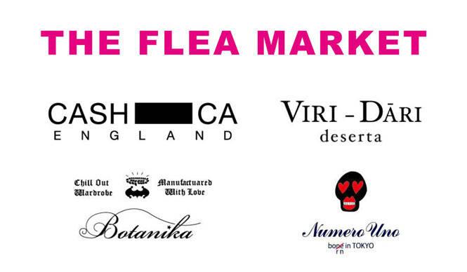 THE FLEA MARKET|スタイリスト小沢 宏氏主催の合同ガレージセール開催