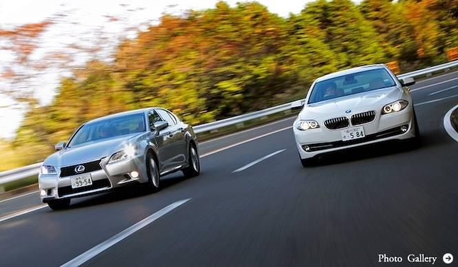 日独プレミアムハイブリッドサルーンの世界|LEXUS & BMW