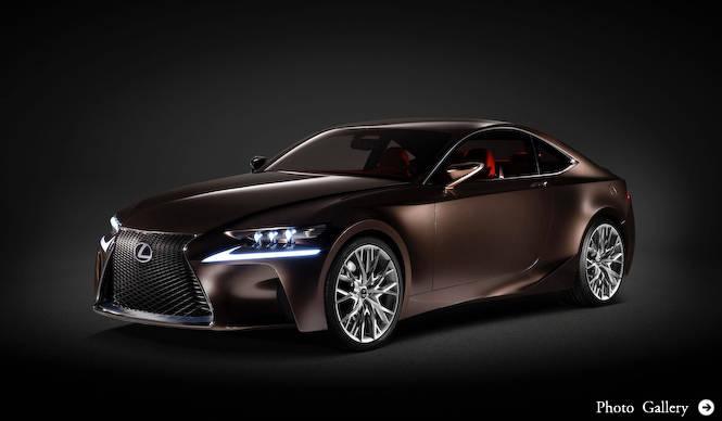 レクサス、新型ISをデトロイトショーでデビュー Lexus
