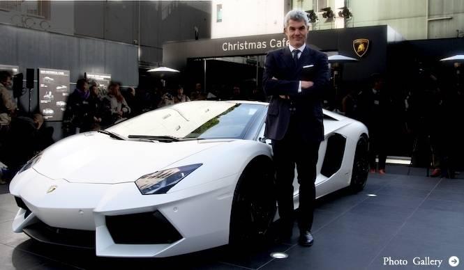 アヴェンタドール ロードスター、日本初上陸 Lamborghini