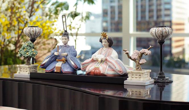LLADRO|「雛人形 60周年記念モデル」も登場の雛人形コレクション