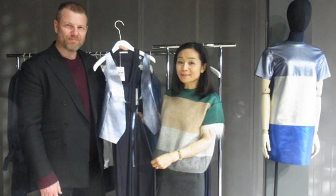 萩原輝美 アクネの旗艦店オープン&クリエイティブ・ディレクターにインタビュー
