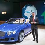 コンチネンタルGTスピード コンバーチブル発表|Bentley