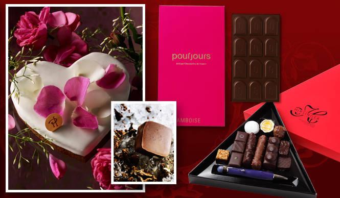 特集|バレンタインをめぐる、ニュースなチョコレート