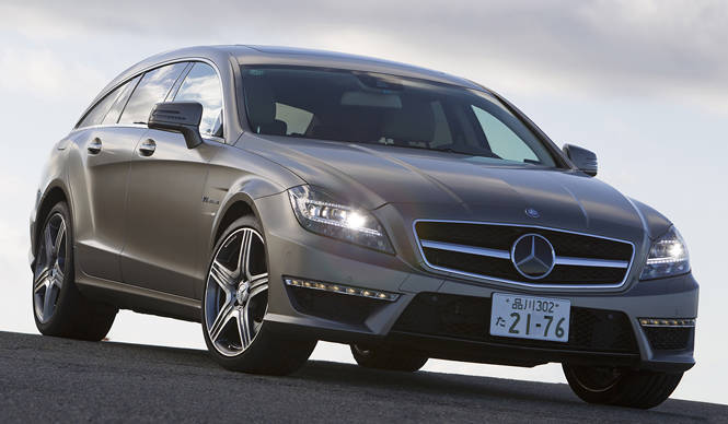 CLS 63 AMG シューティングブレークに試乗 Mercedes-Benz
