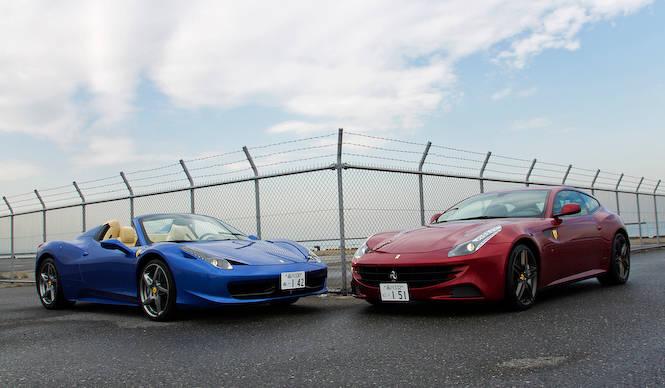 フェラーリのある生活 - 458スパイダー & FF|Ferrari