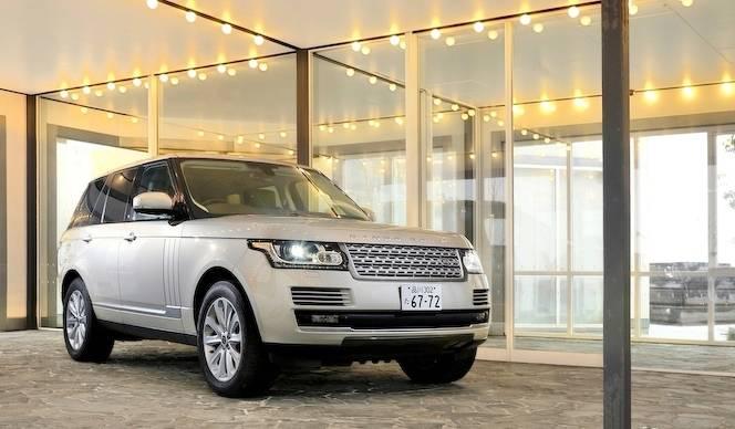 レンジローバーに試乗  Range Rover