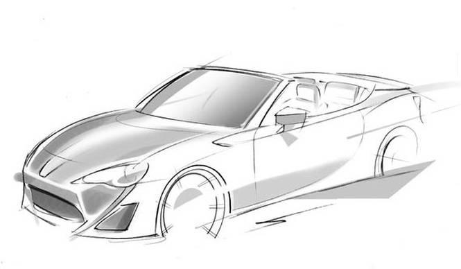 トヨタ、86のオープンモデルを予告|Toyota