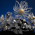 MIKIMOTO|11のスタイルに変化する、真珠発明120周年記念スペシャルクラウンを特別公開