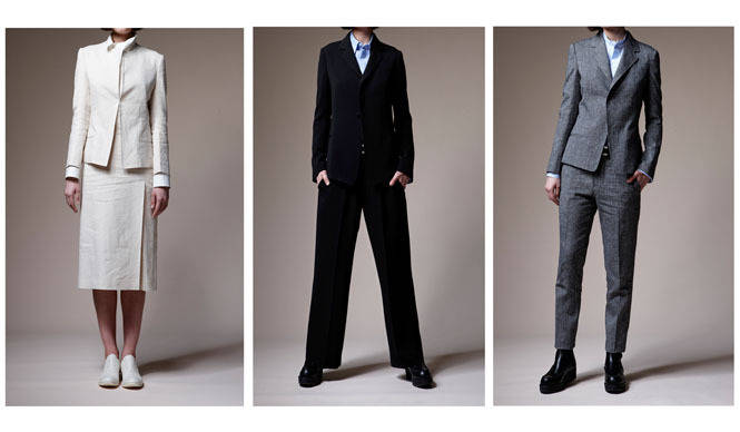 YOHJI YAMAMOTO|働く女性へのスーツ提案。Y'sの新ライン「Y's Exclusive」発表