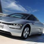 1リッターで100km走るVW「XL1」登場|Volkswagen