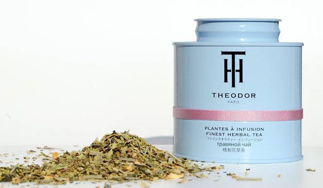 THE O DOR|ライトブルーの缶「ハーブティーライン」5種新発売