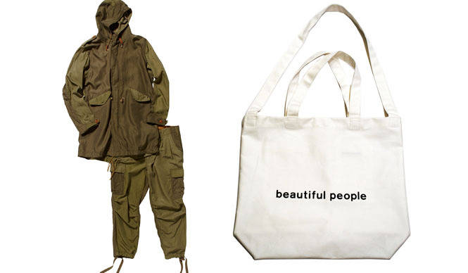 beautiful people|ビューティフル ピープル青山店3日間限定「メンズフェア」開催