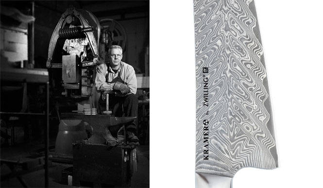 ZWILLING 世界最高のナイフビルダーと日本工場が生み出した「ボブ・クレイマーシリーズ」発売