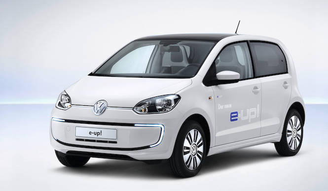 VW初の量産EV e-up! 登場|Volkswagen