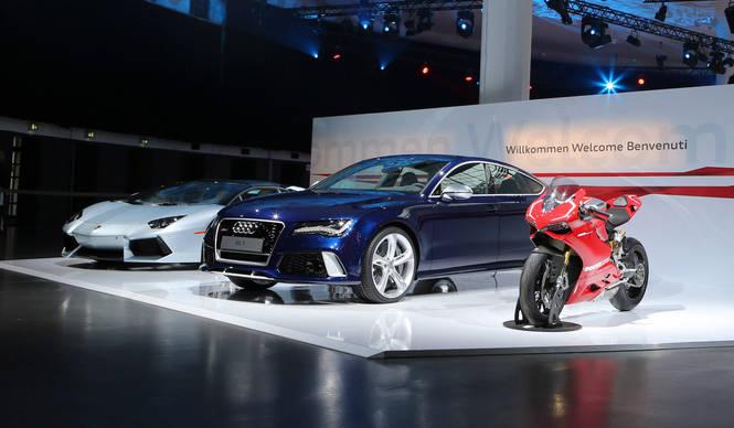 アウディとイタリアンブランド|Audi