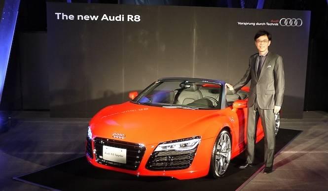 新型R8が日本上陸|Audi