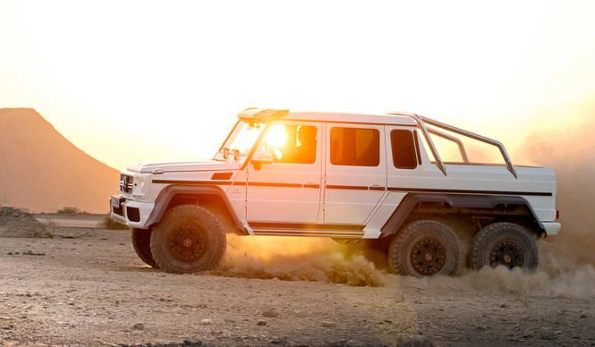 六輪駆動のGクラス登場|Mercedes-Benz