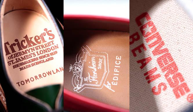 特集|ドレスシューズからスニーカーまで、2013年春の別注靴ベスト37!