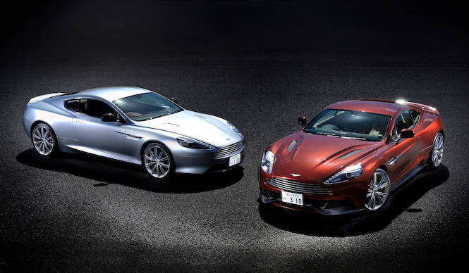 アストンマーティン ヴァンキッシュ&DB9に試乗|Aston Martin