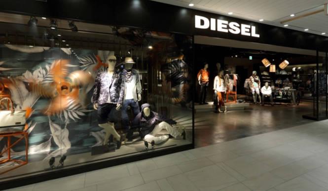 DIESEL 名古屋「DIESEL クレアーレ」が店舗面積を拡大してリニューアル!