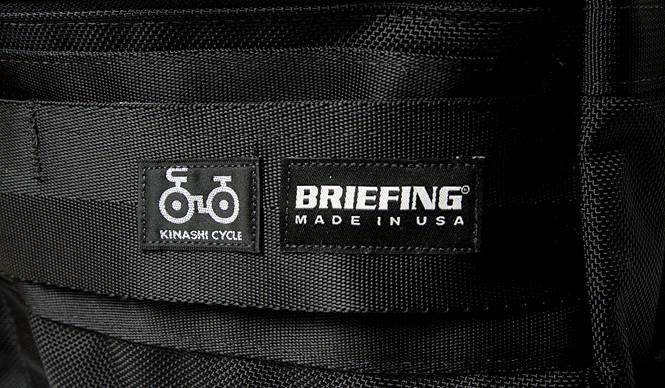 木梨サイクル × BRIEFING コラボレーションバッグ全4型を発売