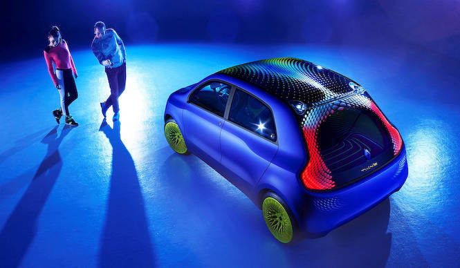 ルノー ラブグローブ氏と協業した「Twin'Z」公開|Renault