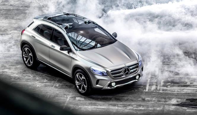 GLAコンセプト、上海でワールドプレミア|Mercedes-Benz