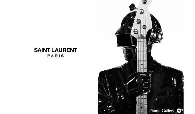 SAINT LAURENT|サンローランのキャンペーンにダフト・パンクが登場