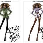 EMILIO PUCCI|ビヨンセのワールドツアー衣装を制作
