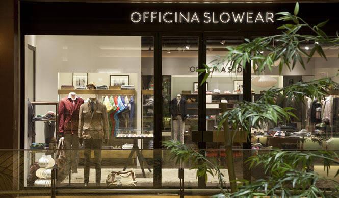 SLOWEAR|東京ミッドタウンに「オフィチーナ スローウエア 東京ミッドタウン店」オープン