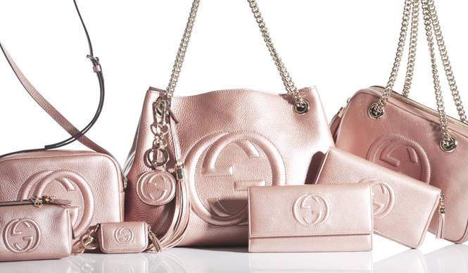 GUCCI 大人気バッグ「SOHO」に日本限定カラーのピンクが登場