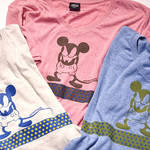 BURNER|DisneyコラボレーションTシャツ5月下旬発売